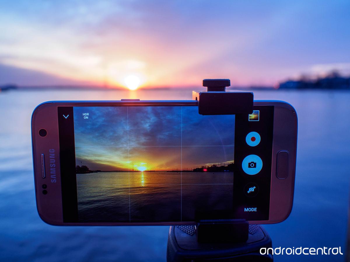 Photo of a Samsung Galaxy S7