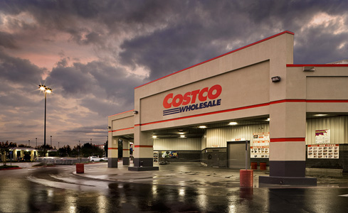 This is a photo of a Costco Storefront