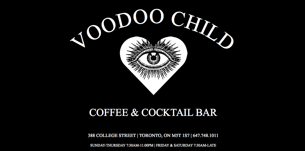 Voodoo Child a coffee and cocktail bar