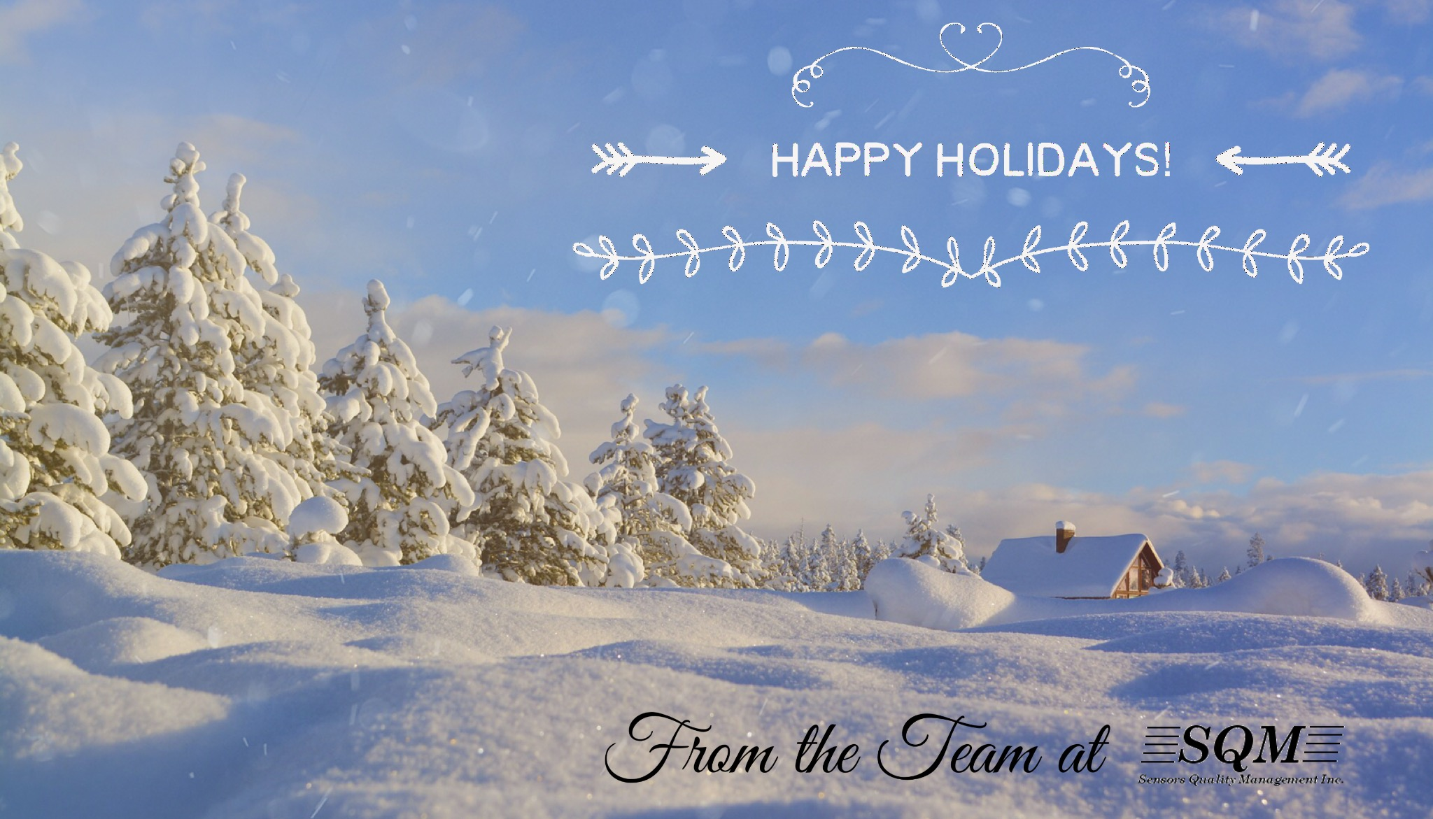 Happy Holidays from the Team at SQM.